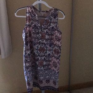 Sleeveless dress worn once size 2